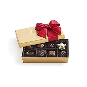 Godiva Chocolatier 8 Piece Holiday Ballotin, 3.4 Ounce