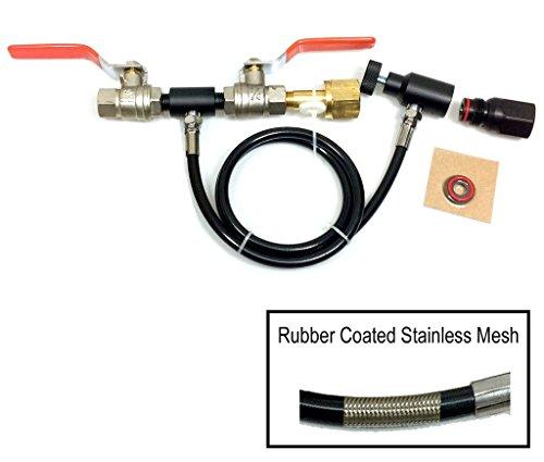 Refill Kit for Soda Maker CO2 Bottles and Paintball CO2 Bottles Basic by Palmer Pneumatics