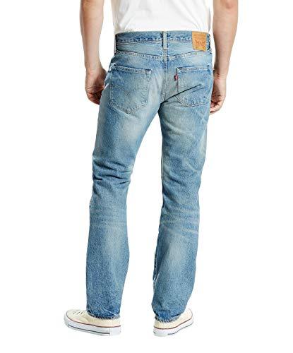 Up Fit 501 Levi's Jeans Destruction Uomo Torn Original UqYCPCxwv