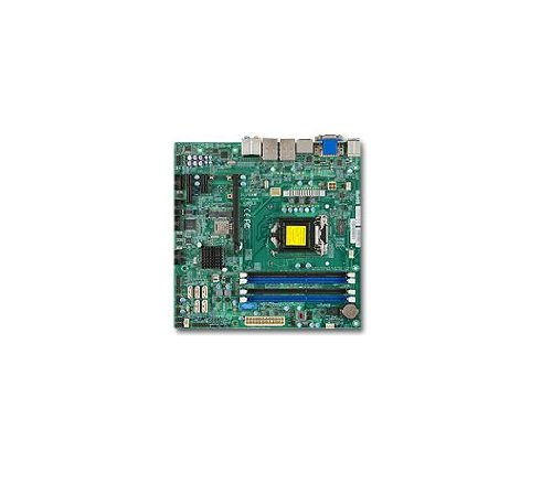 Motherboard Supermicro Sata (Supermicro Motherboard LGA1150 Core i3/i5/i7 Q87 32GB DDR3 PCI Express SATA USB microATX Retail MBD-X10SLQ-B)