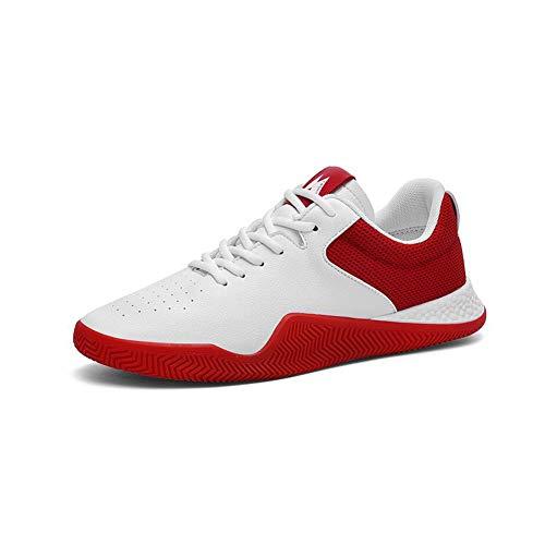 Petites Générique Blanches Chaussures Hommes Mouvement Ff Homme Red Respirant r1Ivx1Hqw