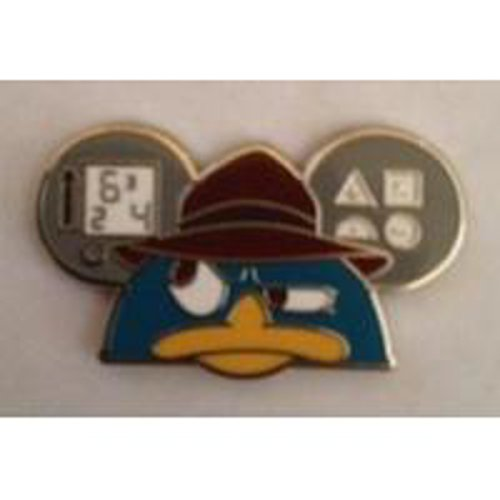 - Disney Pin 98959 Character Earhat - Mystery Pack - Agent P Perry Pin the Platypus Phineas and Ferb