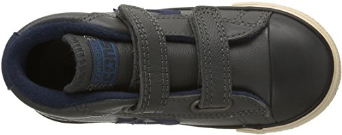 Converse Sp 2V Lea Mid - Zapatillas altas infantil Gris (Gris/Bleu)
