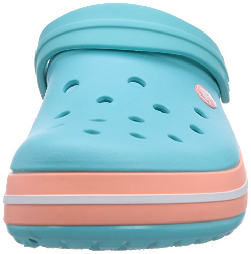 Crocs Band Clog, Sabots Mixte Adulte Bleu (Pool/Melon)