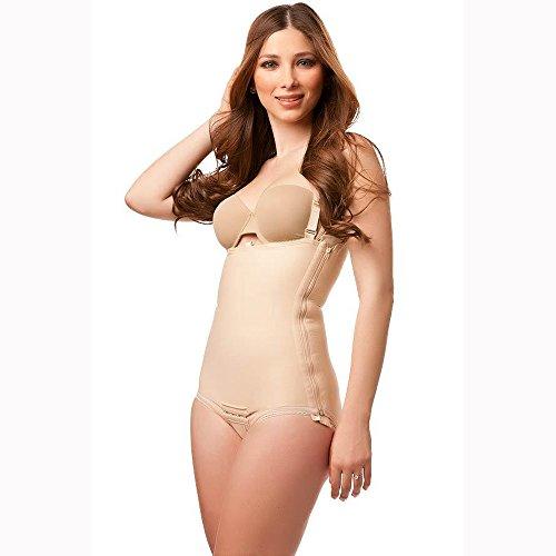 Isavela BS01 Body Suit w/ Suspenders & Zipper on Left Side-Med-Black from Isavela