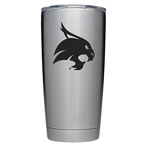 YETI Officially Licensed Collegiate Series Rambler, 20oz Tumbler, Texas State by YETI