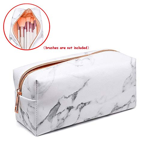 Makeup Tools Storage Bag, Elevin(TM) Beauty Travel Cosmetic Bag Girls Fashion Multifunction Makeup Brush Bag (Rose Gold) -