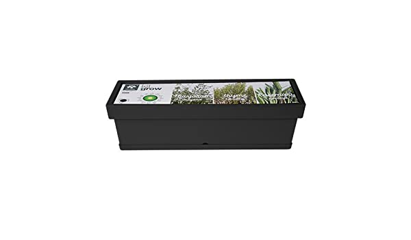Herstera Garden 12210460 Kit grow aromaticas, Antracita, 59x18x17 ...