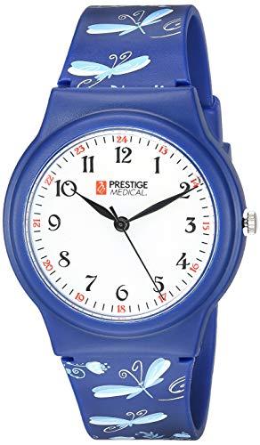 Prestige Medical Basic Scrub Watch, Dragonflies Navy