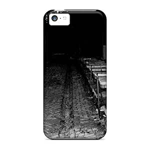 Durable Defender Case For Iphone 5c Tpu Cover(darkened)