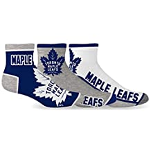 Toronto Maple Leafs Men's 3-Pack Socks