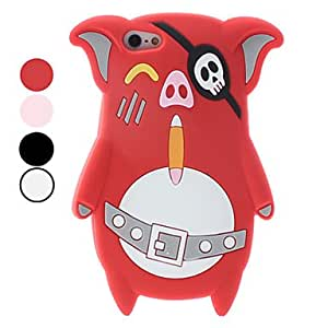 LCJ Pig Design Soft Case for iPhone 5 (Assorted Colors)