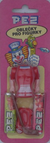 Pez Carded Hockey Uniform With (2) Packs Of Candy From Austria