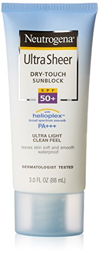 Neutrogena Ultra Sheer Dry-Touch Sunscreen, Broad Spectrum Spf 55, 3 Oz.