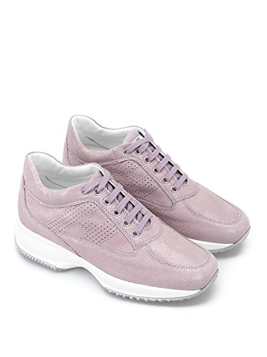 HXW00N00E30I6FL809 Donna Rosa Pelle Hogan Sneakers vB0qwwpE