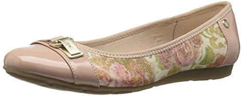 Able Pink Flat Anne Light Combo Klein Ballet Women's Fabric Sq0wOxz0
