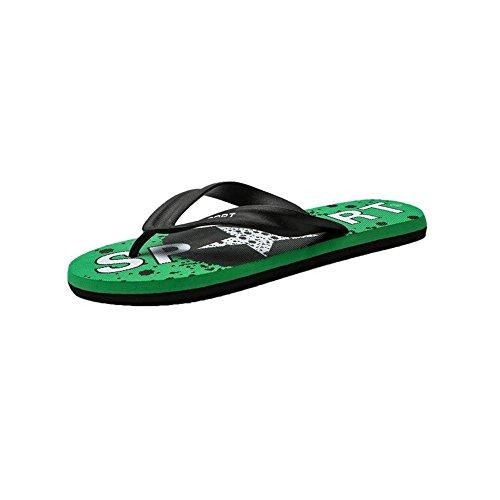 Spina A UK Da Pesce Scarpe Da EU Sandali sportivi Pantofole CN 9 Colore Stagione Bagno Estiva Scarpe Di Il dimensioni Bagno Pantofole Red Fare Pantofole DALL Sandali 44 44 Green Da Spiaggia Uomo qzftII