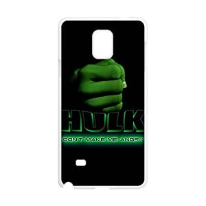 Happy Hulk Fashion Comstom Plastic case cover For Samsung Galaxy Note4