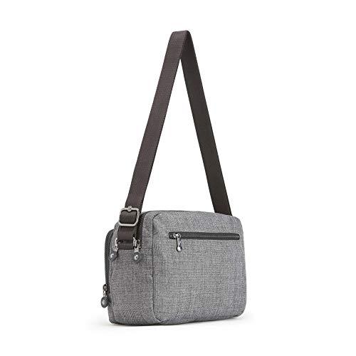 Grigio A cotton Tracolla Kipling Grey Borse Donna Silen 8CRqv