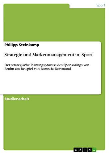 Amazon Com Strategie Und Markenmanagement Im Sport Der