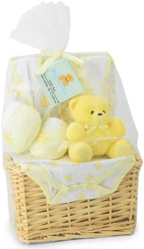 Big Oshi Baby Essentials 9-Piece Layette Basket Gift Set