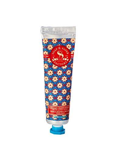 (Soap & Paper Factory Snowdrop Creamy Peppermint Petite Hand Cream, 1 Ounce)