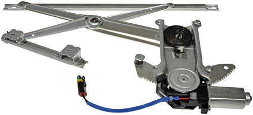 Regulator Dodge (Dorman 741-753 Dodge Ram Front Driver Side Window Regulator with Motor)