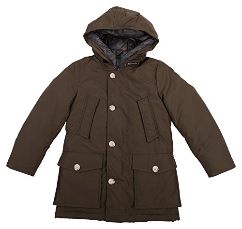 Piumino Woolrich Verde Bimbo Boy Green Jacket 6398x Artic Parka qU6Swq