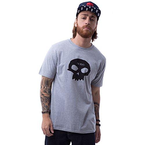 Camiseta Zero Skull - Mescla Medio - Gg