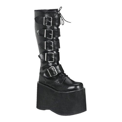 Demonia mega-618 - gotica plataforma botas zapatos unisex - tamaño 36-45, US-Herren:EU-44 (US-M11)