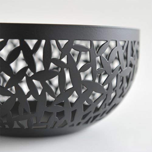 Alessi MSA04/21 B''CACTUS!'' Fruit Holder in Steel Coloured With Epoxy Resin, Black by Alessi (Image #3)