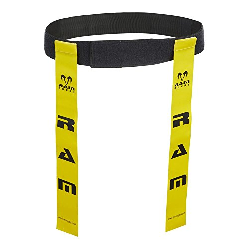 Ram Rugby Tag Belt Set - Small Yellow