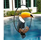 Cheap Timmy the Tropical Exotic Rainforest Toucan Sculpture on a Ring Home Garden Decor (XoticBrands)