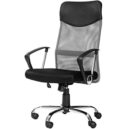 Merax Mesh Adjustable Chair Grey product image
