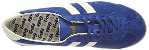 Blue Top Low Blue Suede Xw Women's Gola Marine White Sneakers Bullet Off fwBw8