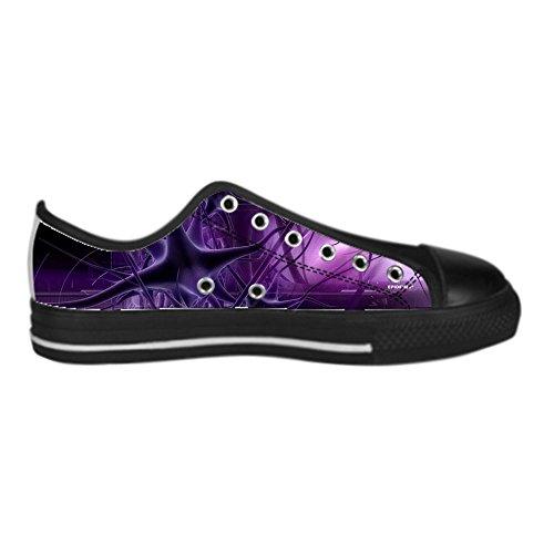 Custom 3D Format Mens Canvas Shoes Schuhe Lace-Up High-Top Sneakers Segeltuchschuhe Leinwand-Schuh-Turnschuhe E