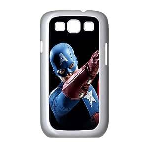 Samsung Galaxy S3 9300 Cell Phone Case White Avengers Captain America Illust Art Portrait LV7075630