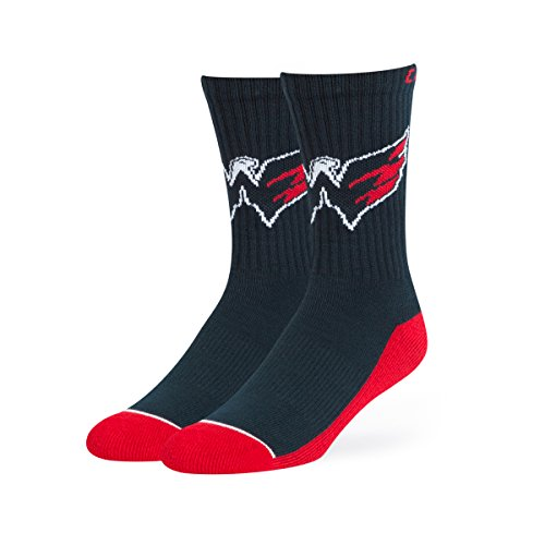 Washington Capitals Mens Socks - NHL Washington Capitals OTS Anthem Sport Sock, Navy, Large