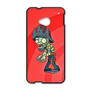 DIY Phone Cover Custom Plants vs. Zombies For HTC One M7 NQ5342285