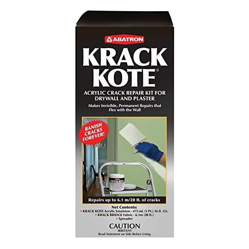 Krack Kote - Crack Repair Kit for Drywall and Plaster