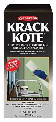 - Krack Kote - Crack Repair Kit for Drywall and Plaster