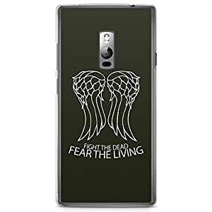 OnePlus Two Transparent Edge Case The Walking Dead Fear The Living
