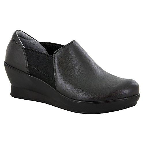 Alegria Womens Fraya Loafers Shoes Black Nappa