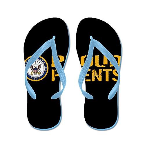 ac172c8baae9 Proud Navy s Cafepress Gold Thong Flops black Beach Flip Sandals U Parents  Funny amp