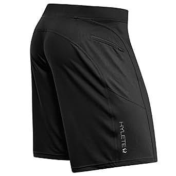 helix II flex-knit integrated pocket short - black/stealth black - SMAK
