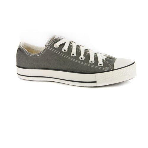 Converse All Star Chuck Taylor Grey Low Sneakers-Grey-12
