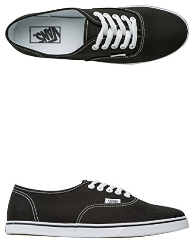 Vans Authentic Lo Pro - Zapatillas de skate, Unisex Black White