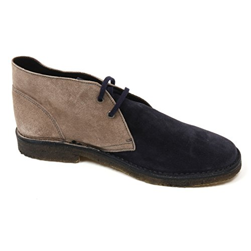 Polacchino Mariotti Man Grigio Simone Blu C3732 Shoe Blu Grigio Uomo Boot d8EvEWr
