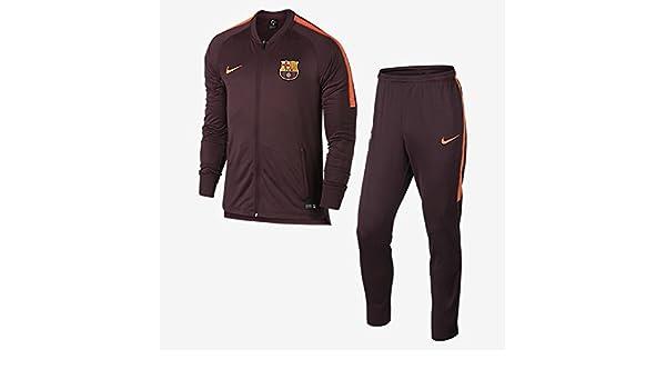 Chandal Jr. Nike F.C.Barcelona Dry Squad Granate S (128-137 CM ...
