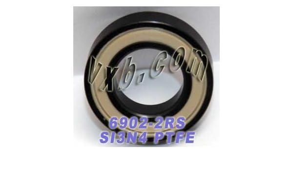 61902RS1 Full Ceramic Bearing 15x28x7 Ball Bearings VXB